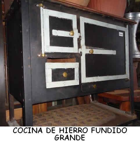 Estufas - Estufas de hierro ...